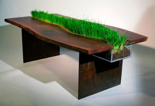 绿色办公桌(一)