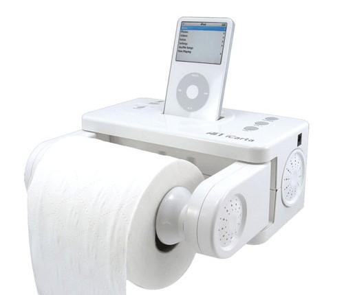 iPod音乐手纸架