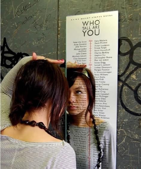 测量人生的镜子