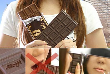 巧克力化妆镜
