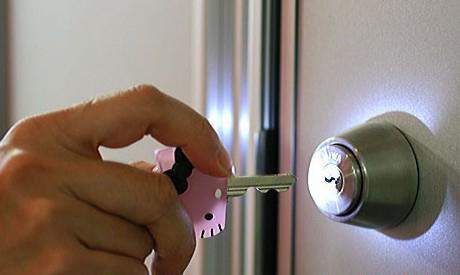 可以发光的钥匙套