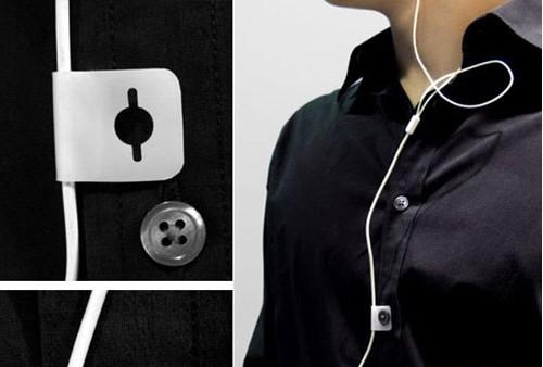 耳机线纽扣