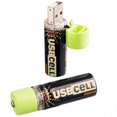 电池造型U盘