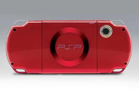 概念PSP背面