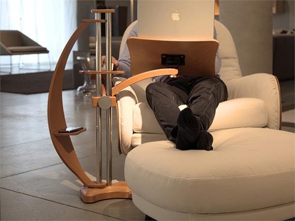 造型时尚的笔记本电脑支架-1