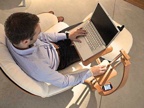 造型时尚的笔记本电脑支架-2