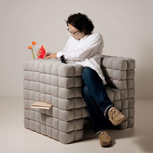 可以提高工作效率的像素沙发
