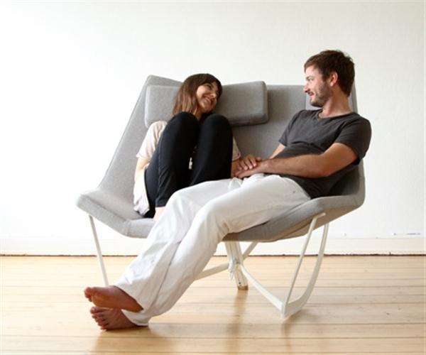 豫游棋牌情侣摇椅 过有情调的生活-玩意儿