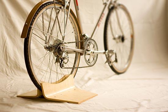 自行车停靠