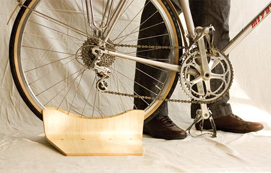 自行车固定