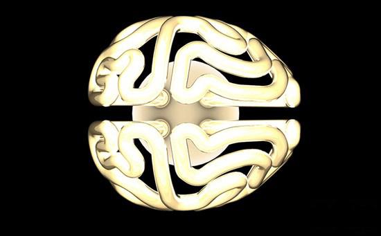大脑形状节能灯泡