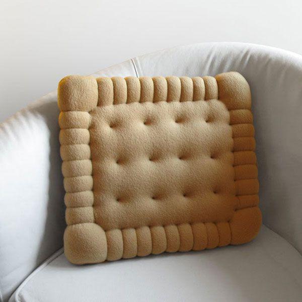 皇冠游戏网不可以吃掉的饼干抱枕-玩意儿