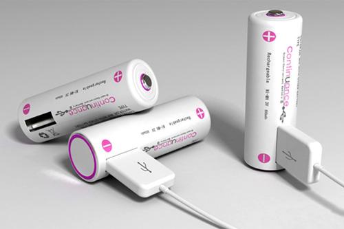 USB接口电池样式的蓄电池