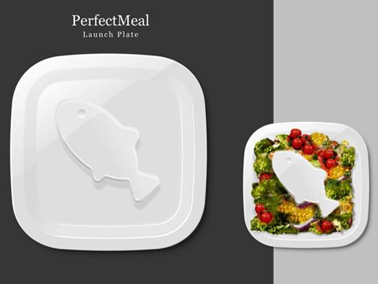 控制食欲的盘子