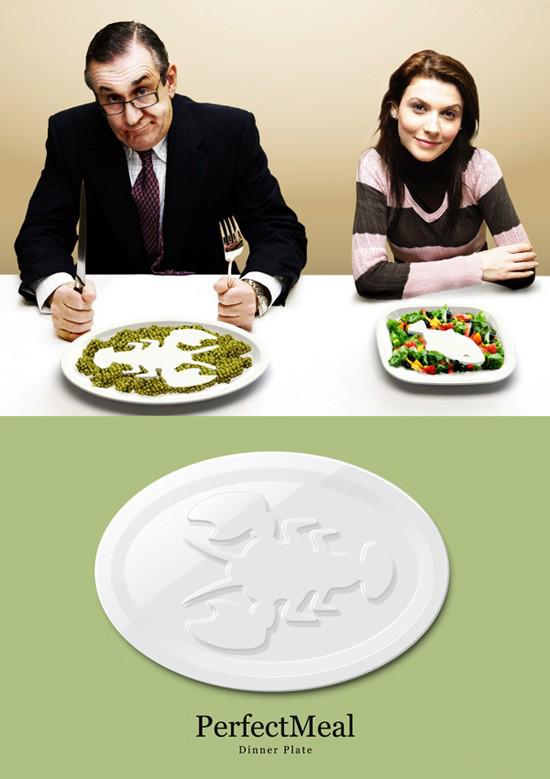 可以控制食欲的盘子