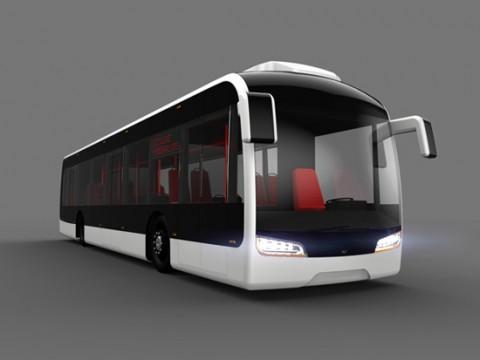新型公交车