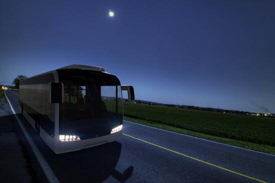 新型概念公交车