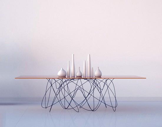 量子运动桌子远观