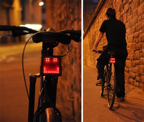自行车表情灯
