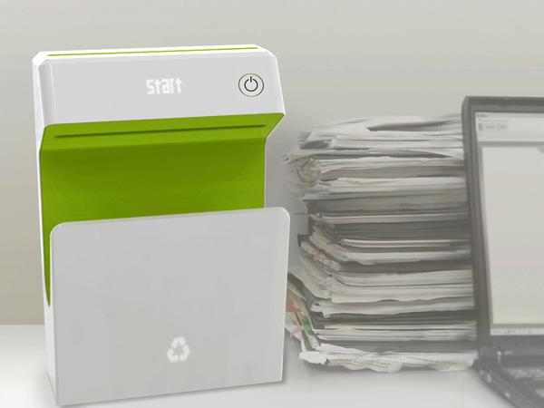 环保的可擦写打印机