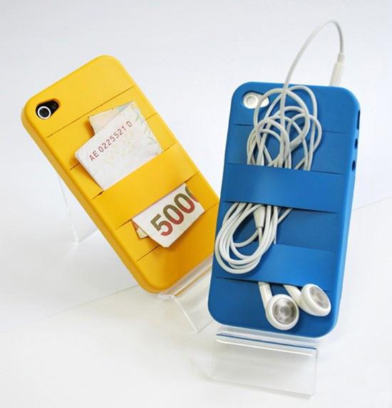 带绷带的iPhone4手机保护套