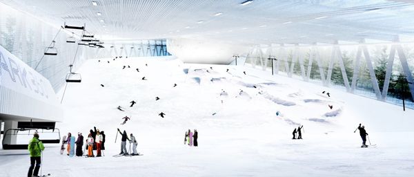 瑞士室内滑雪场(二)