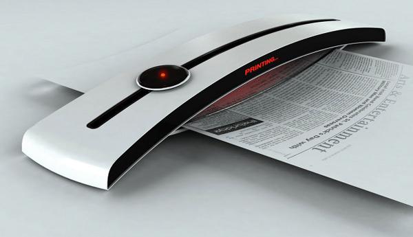 太阳能供电的打印机