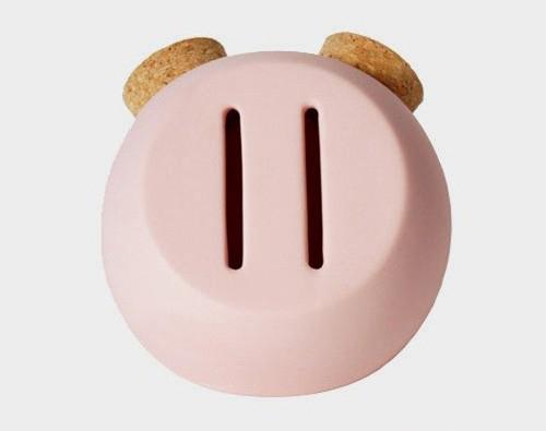 猪鼻子样式存钱罐(二)
