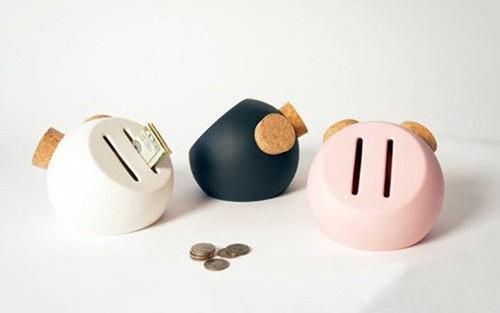 可爱猪鼻子样式的存钱罐