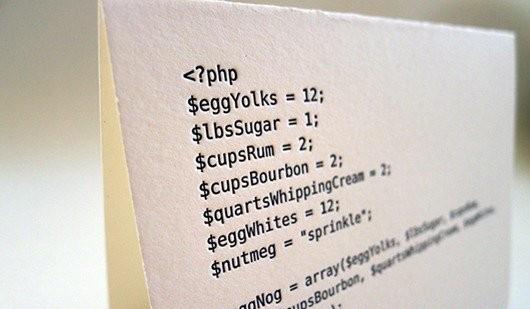 用代码写出来的节日卡片