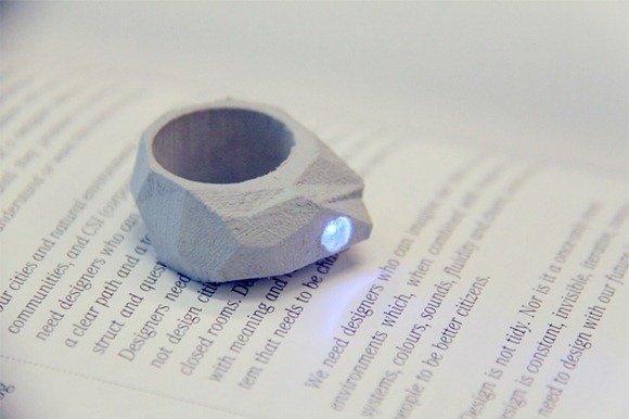 戒指手电筒