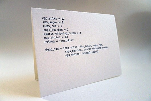 用代码写出来的节日卡片(三)