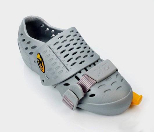 调节尺码的鞋子