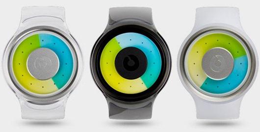 颜色渐变的手表