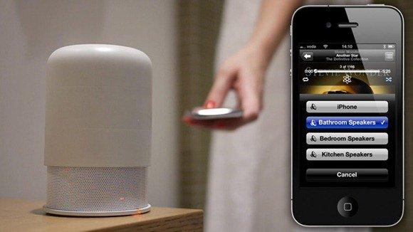 用于iPhone的无线蓝牙音箱