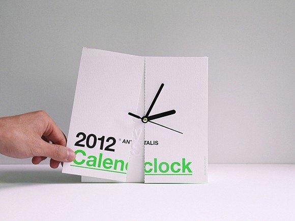 日期历和时钟结合在一起会什么样