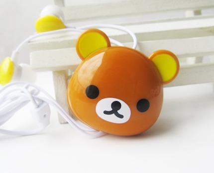 小熊卡通耳机