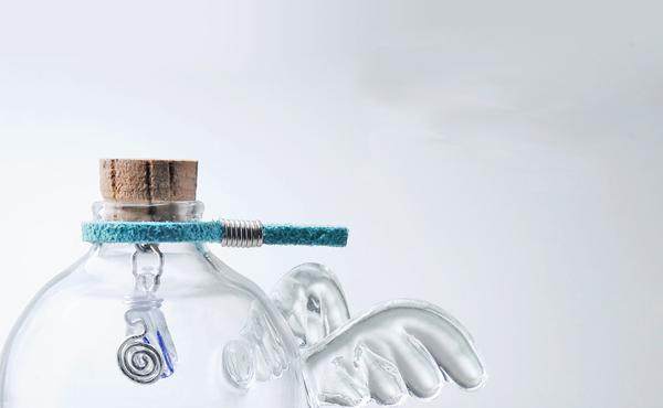 天使细胞手工琉璃项链
