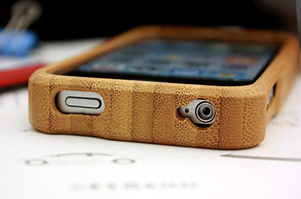 竹制iPhone4手机保护壳