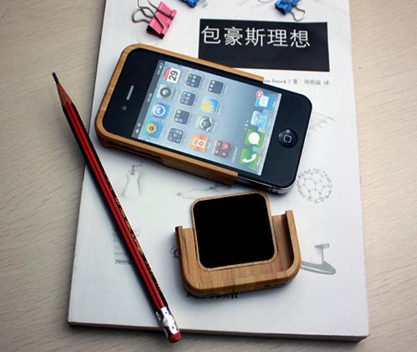 竹制iPhone4手机保护壳(三)