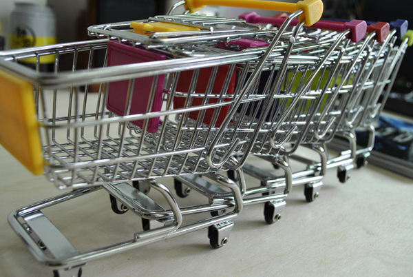 超市购物车收纳盒(三)