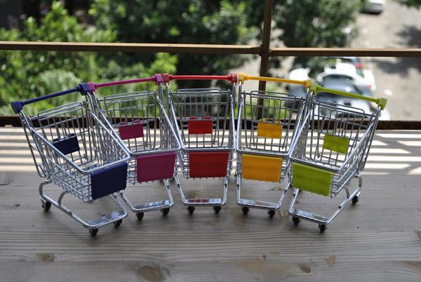 超市购物车收纳盒(四)