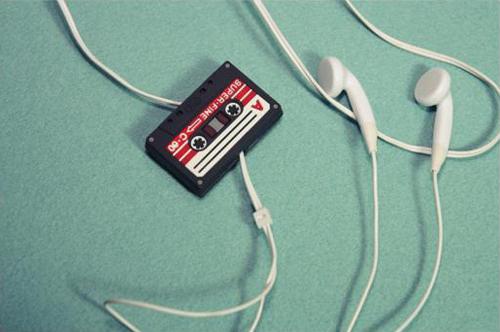 磁带形状的耳机绕线器(三)