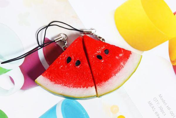 西瓜装饰手机链(三)