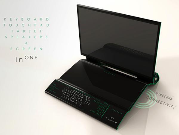 概念设计电脑一体机