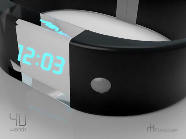 4D手表显示的时间