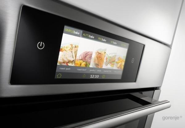触控式烹饪烤箱外观
