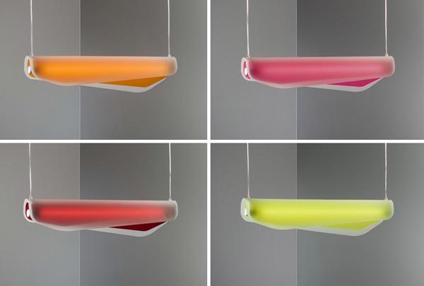 海藻吊灯的各种颜色