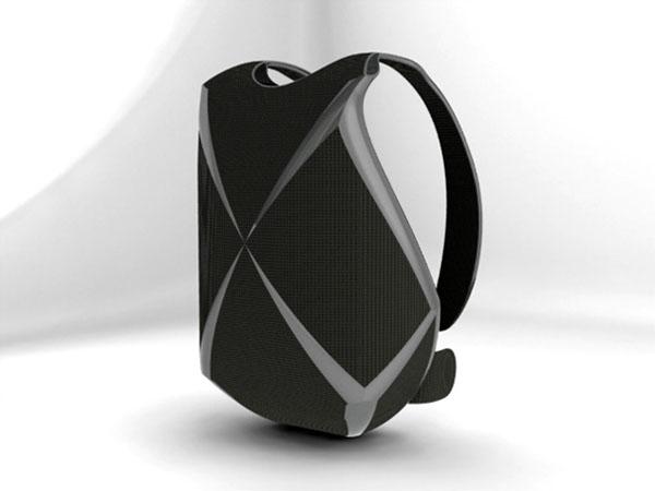 充满科技元素的概念背包