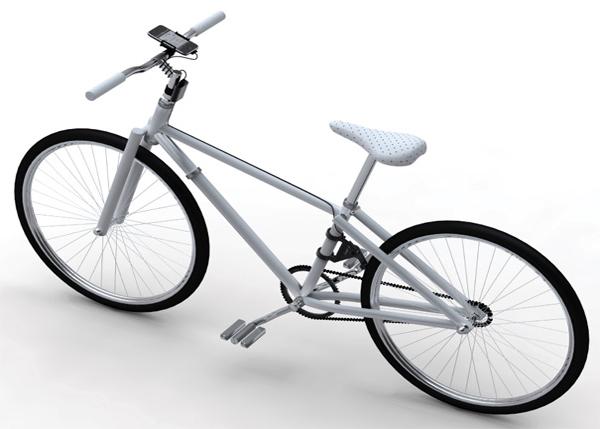 可发电的自行车